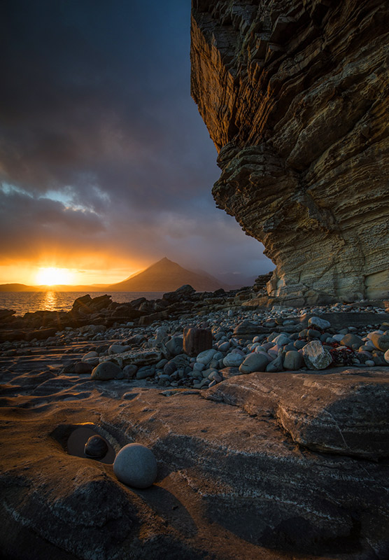 Elgol Skye Depth of Field
