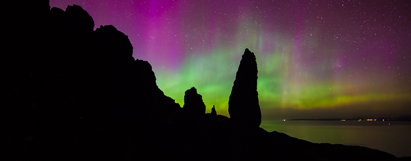 Aurora Old Man of Storr